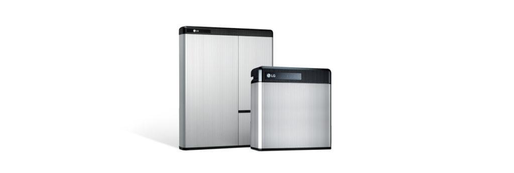 LG Solar battery range